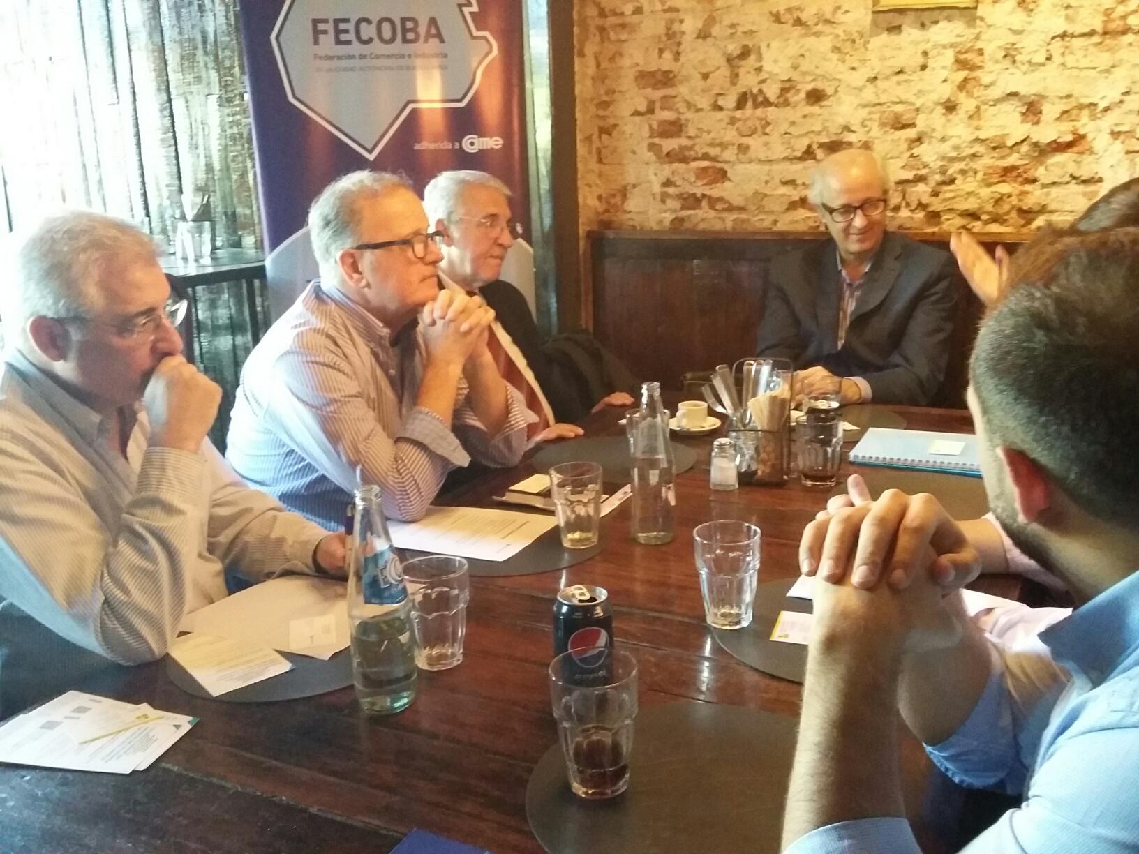 FECOBA y el Banco Ciudad se reunieron con comerciantes de Caballito por nuevo paquete para comercios