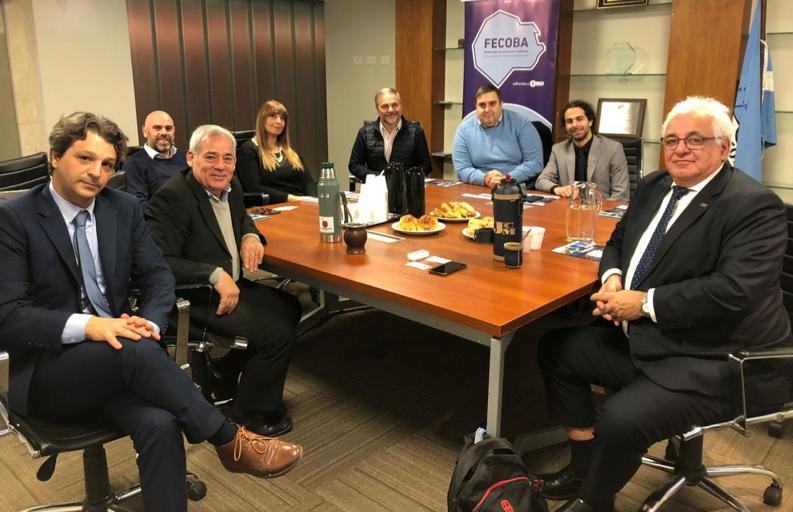 FECOBA recibió en su sede a una delegación de la Intendencia del Departamento uruguayo de Canelones