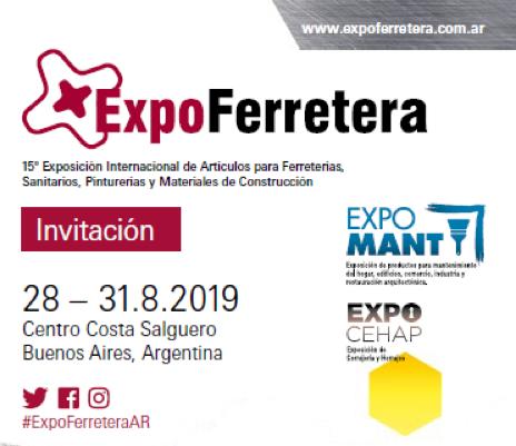 EXPOFERRETERA 2019