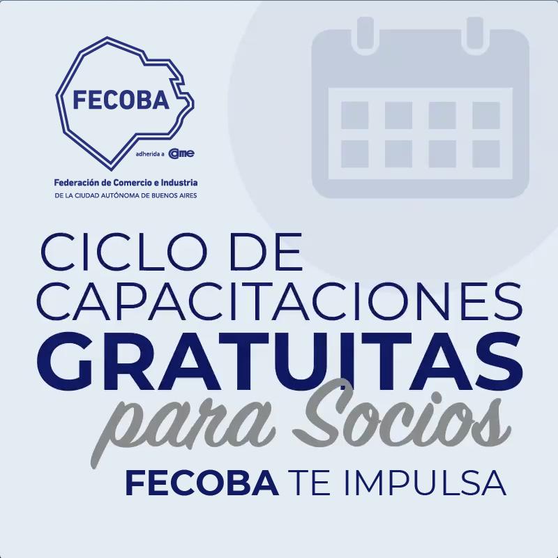 CICLO DE CAPACITACIONES GRATUITAS PARA ENTIDADES ADHERIDAS