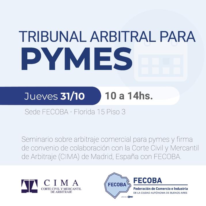 INVITACIÓN: Tribunal arbitral para pymes