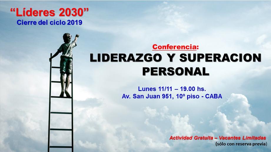 CIERRE DEL CICLO LÍDERES 2030